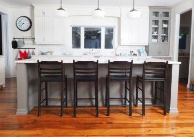 historical reclaimed flooring kitchen