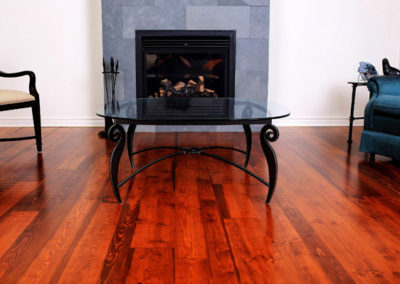 Reclaimed Heritage Pine - Chestnut Stain