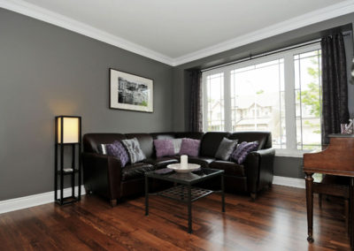 Combo Pine and Walnut Wood Flooring