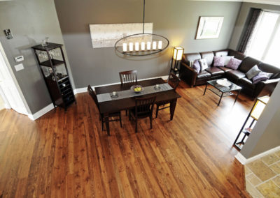 Combo Pine Special Walnut Wood Flooring