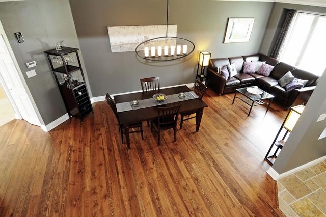 river reclaimed walnut flooring