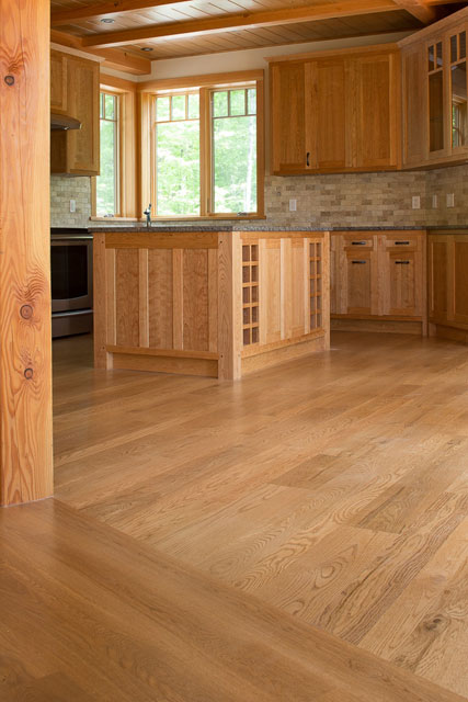Red And White Oak Flooring River Reclaimed Wideplank Oak