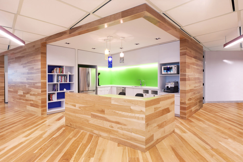 reclaimed wood for offices