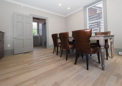 Engineered Birch Hardwood - Stone Oil