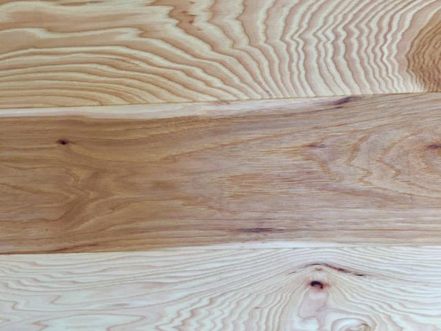 Oiled Wood Floors Logs End