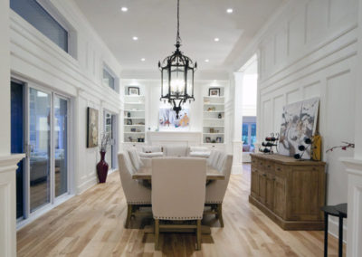 Wide plank birch flooring