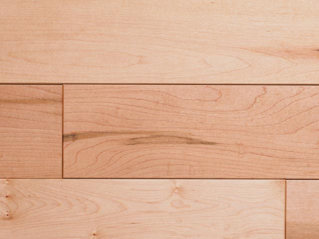 Maple - Natural hardwood