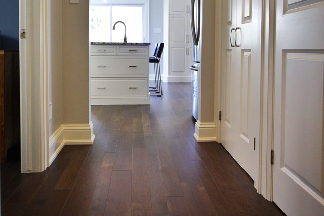 Hardwood Flooring Direction Logs End