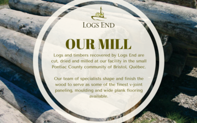 From River to Floor – Logs End