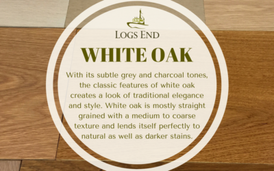 Giant White Oak Will Become Heritage White Oak Hardwood Floor