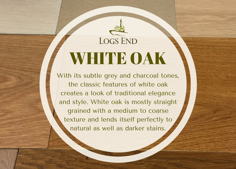 Giant White Oak Will Become Heritage White Oak Hardwood Floor