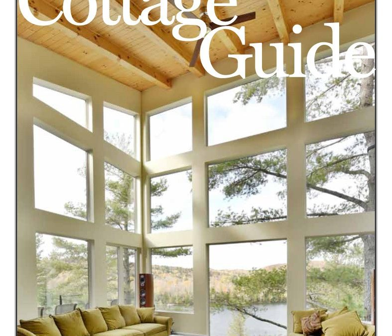 Lake of the woods cottage guide magazine, contractor, yellow pages.