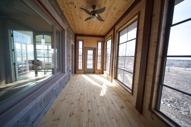 river reclaimed hickory