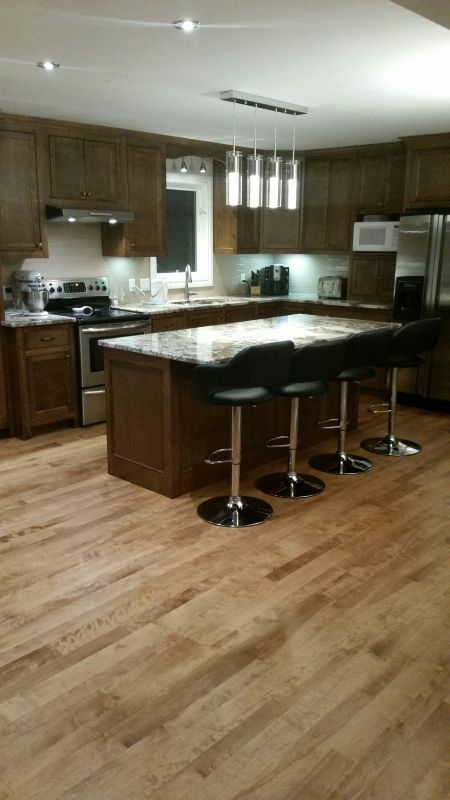 birch flooring reclaimed logs end
