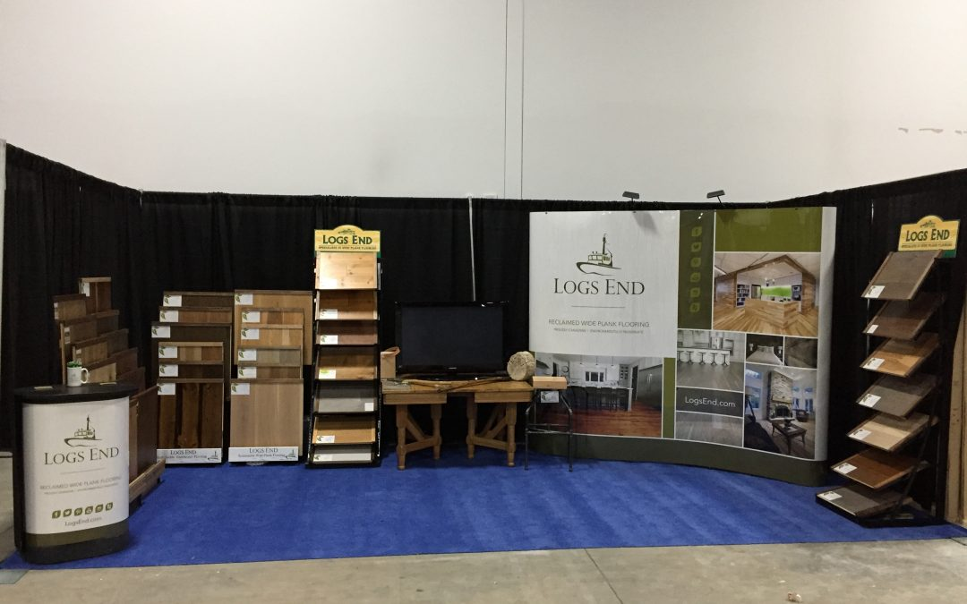 Logs End at the 2017 Ottawa Home + Remodelling Show