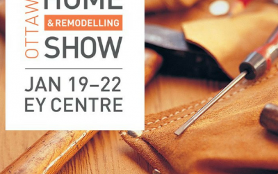 Logs End Displaying at the 2017 Ottawa Home + Remodelling Show