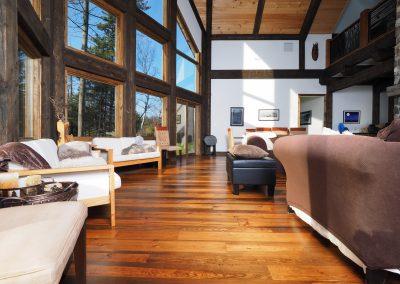 reclaimed pine hardwood