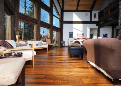 logs end custom hardwood flooring