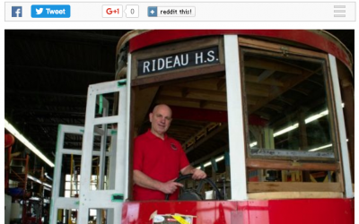 Ottawa streetcar ready to come out of retirement