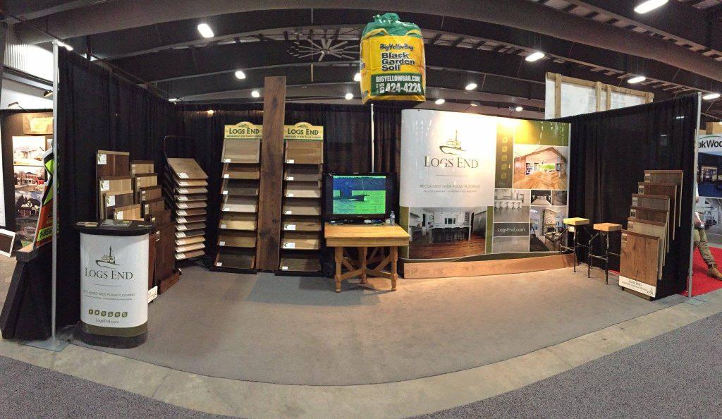 Ottawa Home Garden Show Flooring Logs End