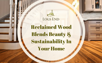 Celebrate Canada's History with Logs End River Reclaimed Hardwood Flooring
