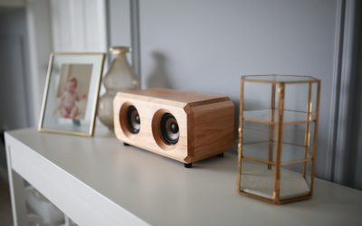 Riverwood Acoustics Uses Logs End River Reclaimed Wood