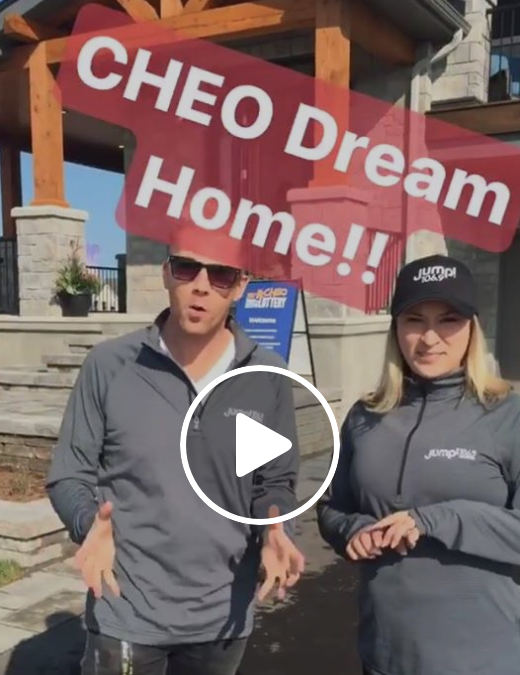Jump 106.9 Visits 2017 CHEO Foundation Dream Home