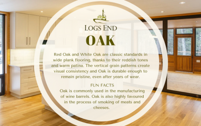 Logs End Oak Hardwood Flooring