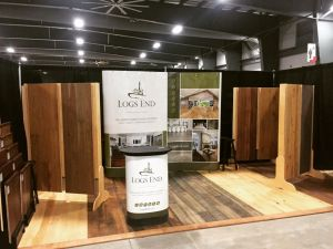 Logs End Booth 1203 at 2018 Ottawa Home and Garden Show