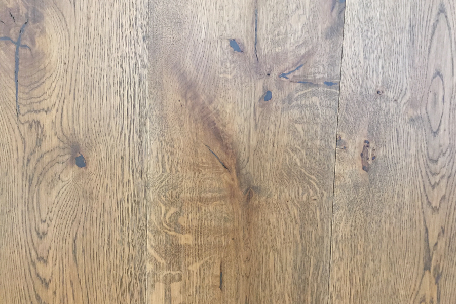 European French Cut Oak - Hazel - Natural Oil