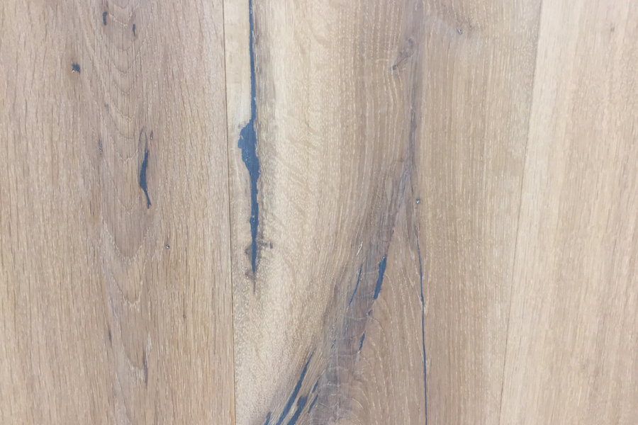 European French Cut Oak - Pearl - Natural Oil