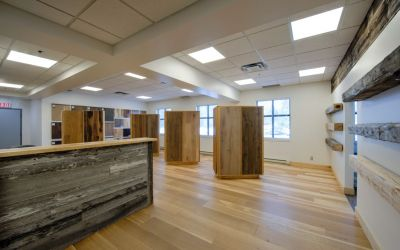 Logs End Opens New Showroom at 66 Iber Road in Stittsville