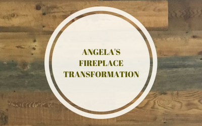 Angela's Fireplace Transformation
