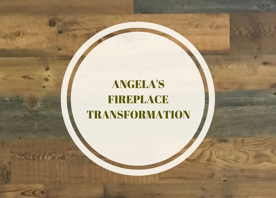 Angela's Fireplace Transformation