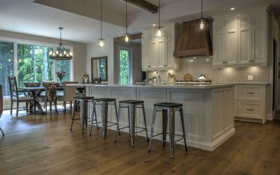 French Cut Oak Hardwood Flooring