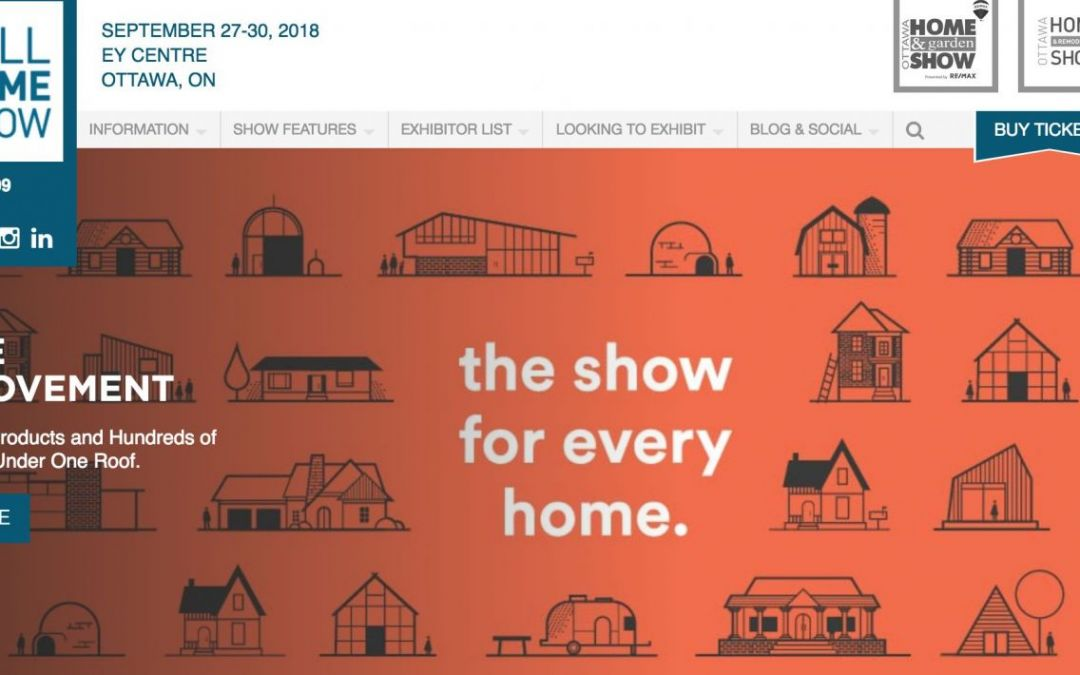 Fall Home Show Ottawa
