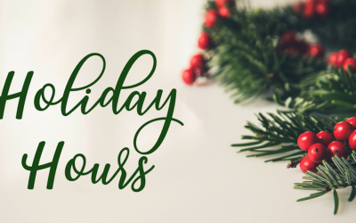 Logs End 2018 Christmas Holiday Hours