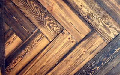 River Reclaimed Pine Showcased in Herringbone