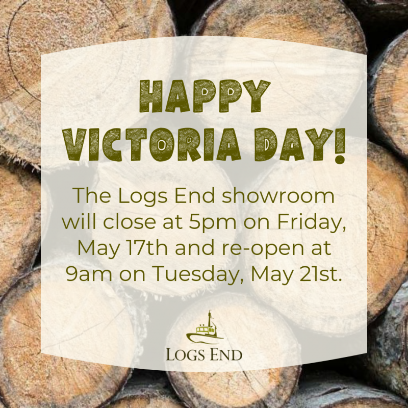 Logs End Victoria Day Weekend Hours 2019