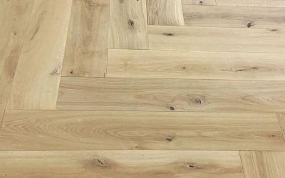 Logs End Flooring Installation Sneak Peek