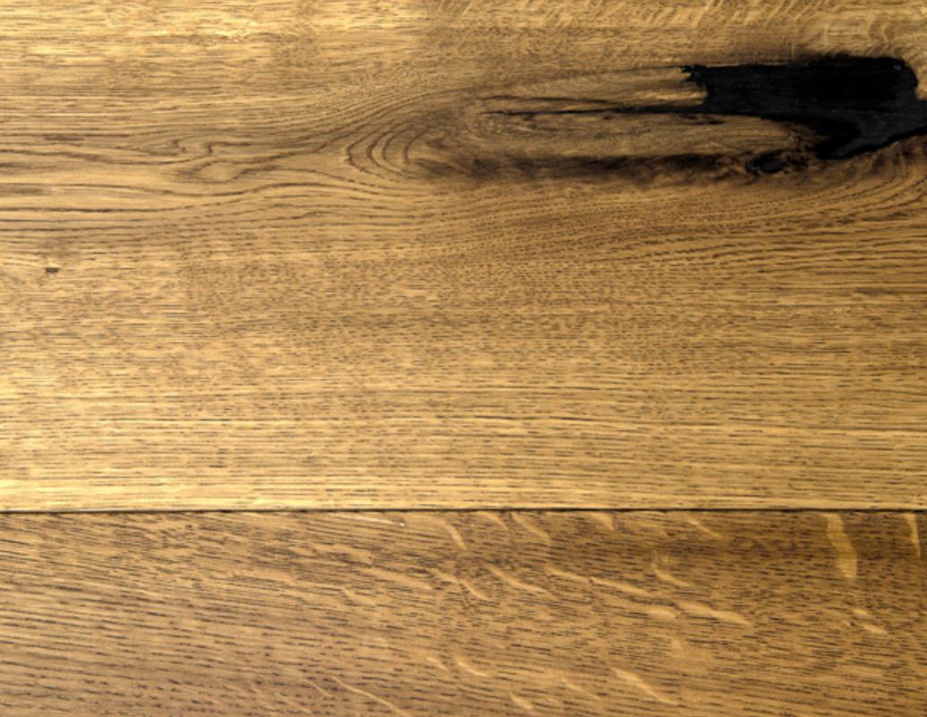 European French Cut Oak - Pearl - Natural Oil