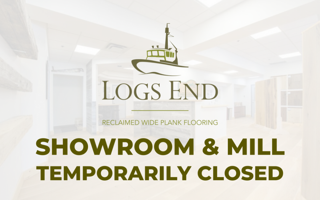 COVID-19 Update from Logs End Hardwood Flooring