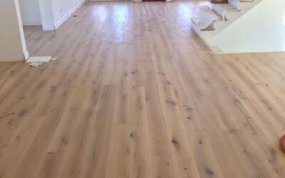 Laflamme Home Features Logs End Oak Floors
