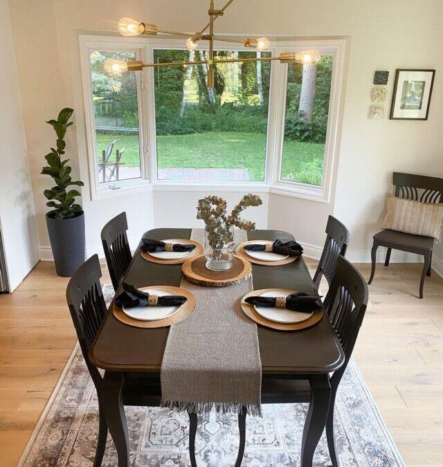Johnston Family Renovates with Logs End Flooring